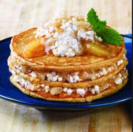 new cinnamon apple pancake recipe ! Very simple but simply delicious ;) - by Cincysimplebaking, Cincinnati