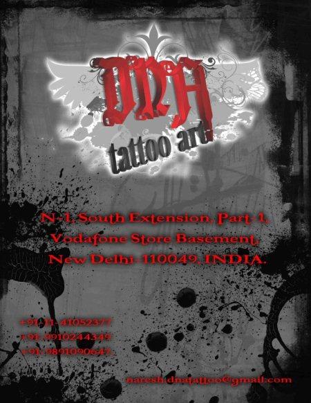 DNA Tattoo Art  - by DNA Tattoo Art South Extension Delhi, Delhi