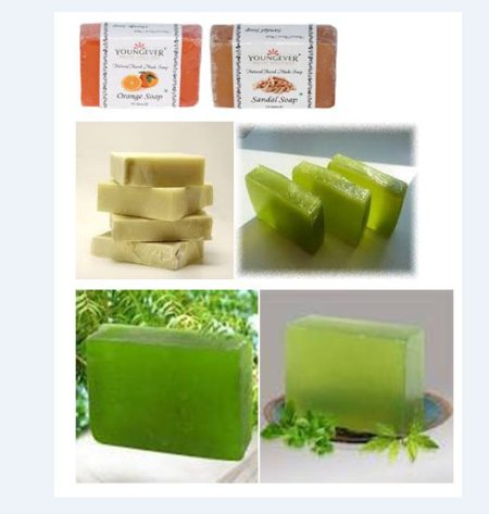 We are the best Manufacturer and Exporter of Hand Made Soaps such as Rose Soap, Orange Soap, Sandal Soap, Shea Butter Soaps, Papaya Soaps, Cucumber Soaps and many more items in Hyderabad.