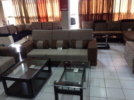 Three seater sofa set in affordable price in Nehrunagar. - by Krishnas Decor, Ahmedabad