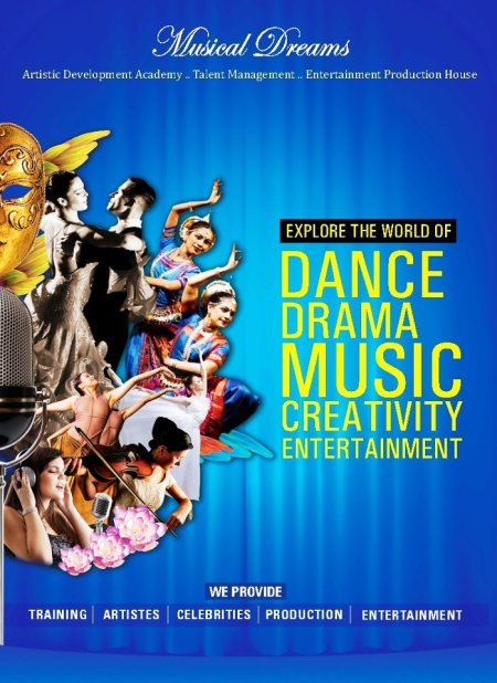We provide Dance, Singing, Music and Choreography in South Delhi. - by Musical Dreams,