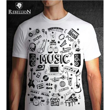 Well designed t-shirts with new concepts cool looking  - by Rebellion, thane