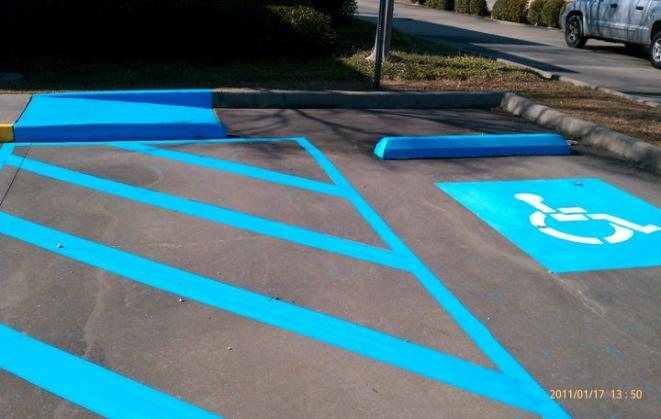 Making Parking Lots Beautiful One Line At A Time