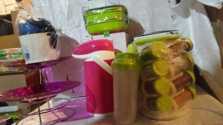 New launch of luxurious look lunch boxes, coffee container etc  - by Rishika Plastic , Delhi