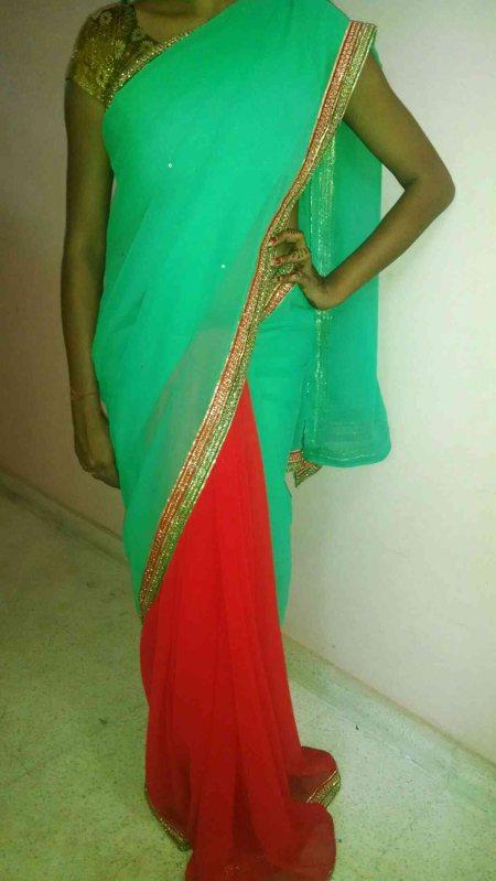 Budget Designer Saris  - by Rang, Ahmedabad