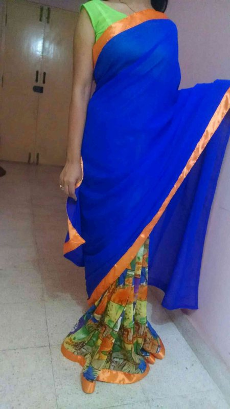 Customized designer saris within your budget. - by Rang, Ahmedabad