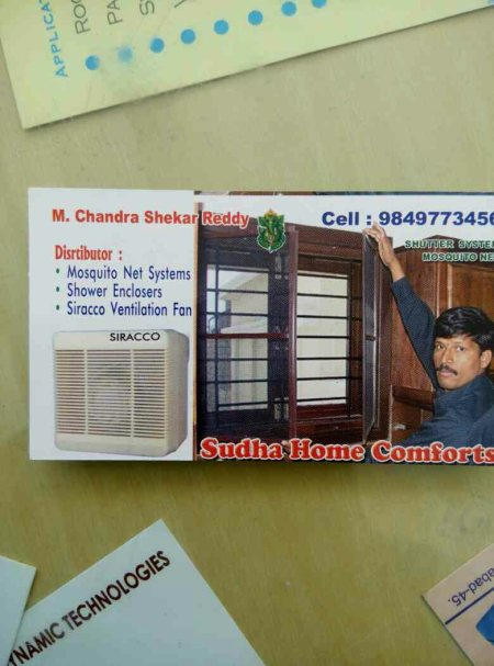 We are the manufacturer of mosquito net system, auto lock slow drive system and door systems in hyderabad - by Sudha Home Comforts, Hyderabad