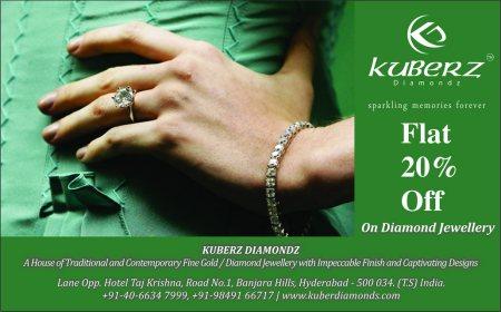 Flat 20% Off - by Kuberz Diamondz, Hyderabad