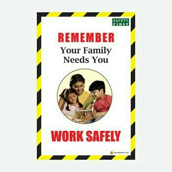 Safey Posters In Chennai - by Safety 24*7, Kanchipuram