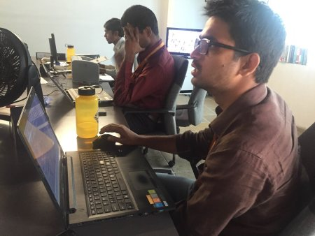 Who is a techgeek?  A person who doesn't shy from challenges.  - by TechGeek, Hyderabad