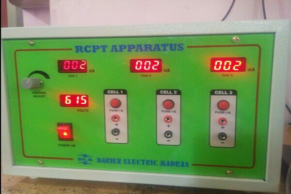 We manufacture the best RCPT apparatus in Chennai. - by Darien Electric Madras, Chennai
