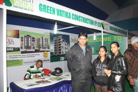 Builders stall at Vision INdia 2014 - by Sunrise Welfare Charitable Trust, Jamshedpur