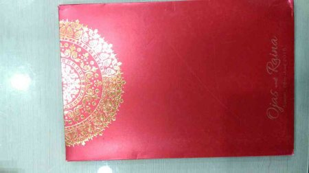 Weddings cards designer in Hyderabad, multiple colours and various designs  - by Utsav Cards, Hyderabad