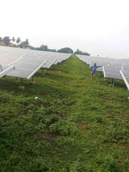 5 MW Solar Installation - by Infinite Synergies india Pvt.Ltd, Hyderabad