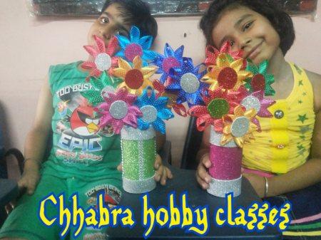 Art and craft at pitam pura   - by Chhabra Hobby Classes, Delhi