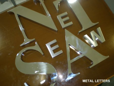SS Molded Letters - by Excel Mart, Chennai