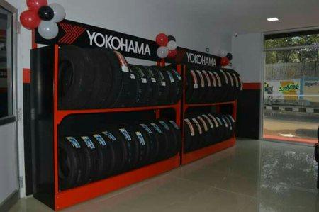 Yokohama Japanese tyres. - by carz planet, Hosur