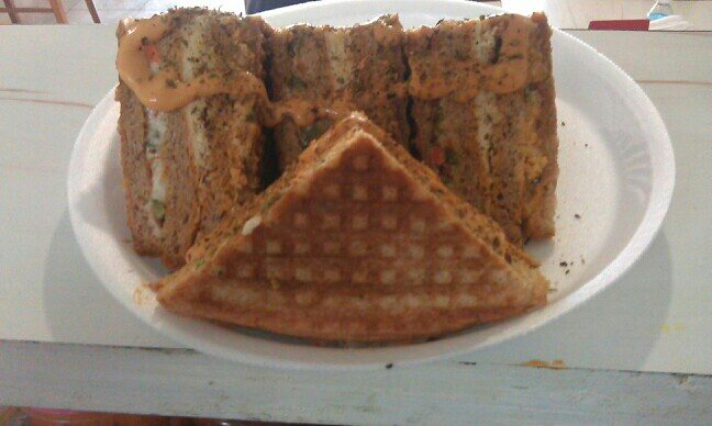 4 Layer Cheesy Sandwich by Kefi's. - by Kefi's - Secret Between The Slices, Ahmedabad