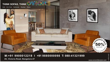 Leather sofas Clearance Sale. 50 % OFF.  Visit ovionlifestyle.com - by Ovion life Style, Chamarajanagar