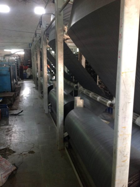 Hope fabric roll machine. - by Ambica Polymers, Ahmedabad