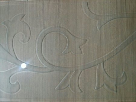 Design etching work at sri priyanka glass.these kind of glasses can be used for sliding doors and partitions. - by SRI PRIYANKA GLASS, Hyderabad