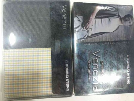 VENEZIA Combo pack of Pant & Shirt For Gifting - by Vastra Vaibhav Bombay Dyeing, Mysore