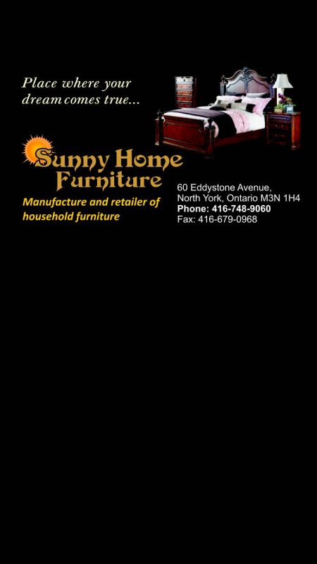 Home furniture  - by Sunny Home Furniture, Northyork
