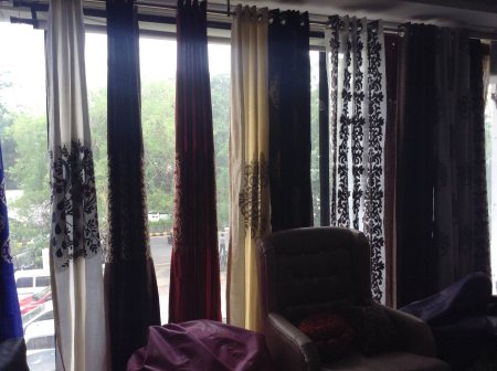 We have designer curtains in Ahmedabad  - by Utopia Interiors, Ahmedabad
