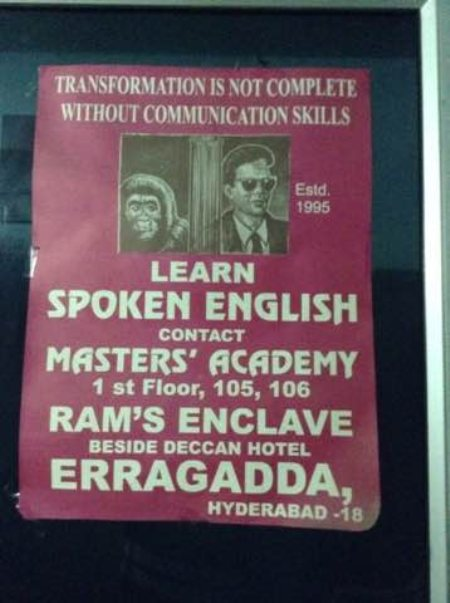 Professional institute for spoken English & communications skills in Ameerpet - by MASTERS ACADEMY, Hyderabad