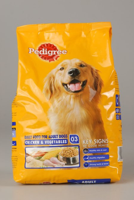 pedigree - adult chicken & vegitable for adult dogs  - by Pet Galaaxy, Hyderabad