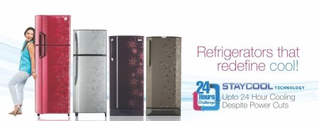 New latest Range of 2015 Refregerators updated from 190Ltr to 481Ltr of all leading Brands, also Get Huge Discounts and assured Gift Offers.  - by Gaurav Electronics, Indore