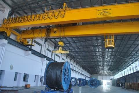 We are the Best EOT Cranes Manufacturers in Chennai - by JPR Engineers, Chennai