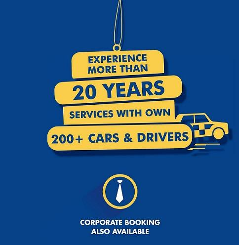 Special Customized Services for Corporate Bookings - by On The Way Cab Services, Ahmedabad