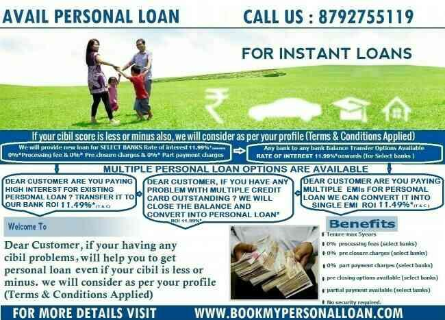 best personal loan provider in indiranagar - by Book My Personal  Loan, Bangalore