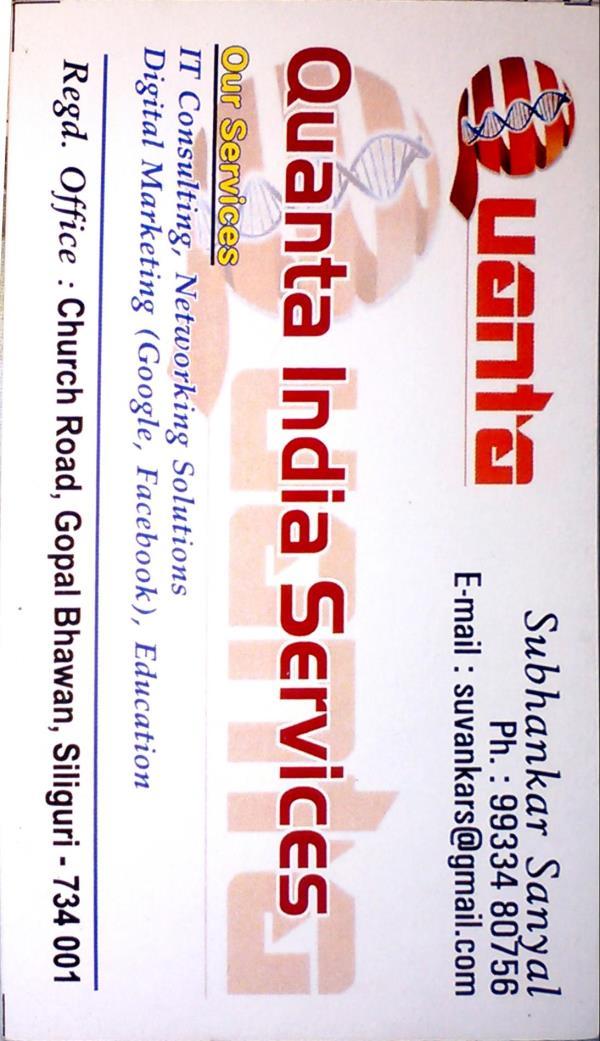 Please visit our website http:www.quanta-India.com - by Quanta India, Darjeeling