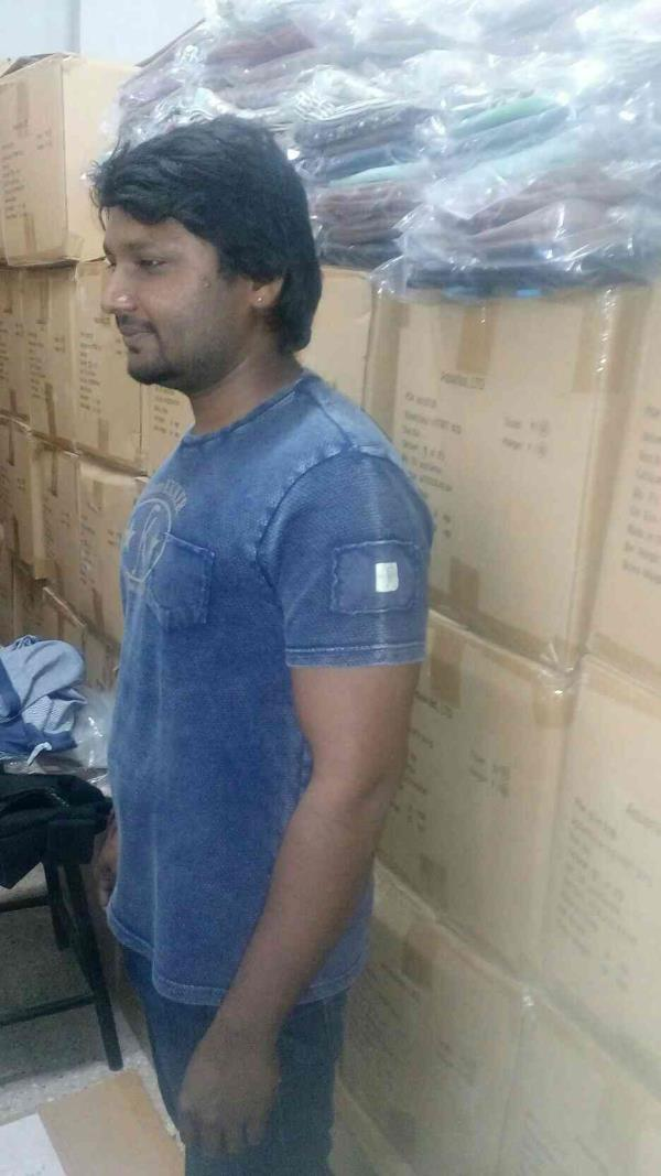 Manufacturer of Dyed and Acid Washed T-shirts. - by Sri Chakraa Impex, Tiruppur