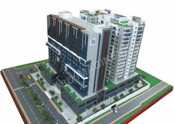Commercial & Residential scaled model. - by 3D Imagines, Hyderabad