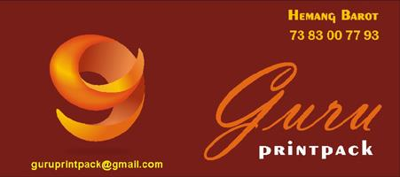 we are since 2001 in  this field we create your Imagination....  work on : news paper & Magazine deign book Title design & Book Composing work stationery printing & Flex Printing etc. - by Guru Printpack, Ahmedabad
