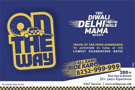 """Enjoy Your Ride With """"On The Way Cabs"""" Dis Diwali............. - by On The Way Cab Services, Ahmedabad"""