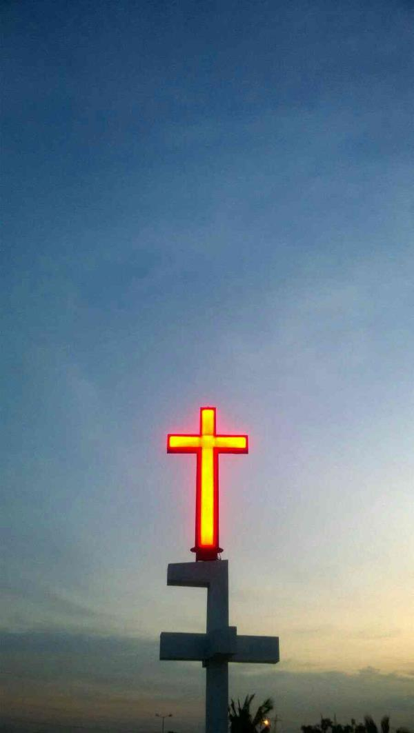 Best Led Cross manufacturer in chennai - by Naza Engineering Services, chennai
