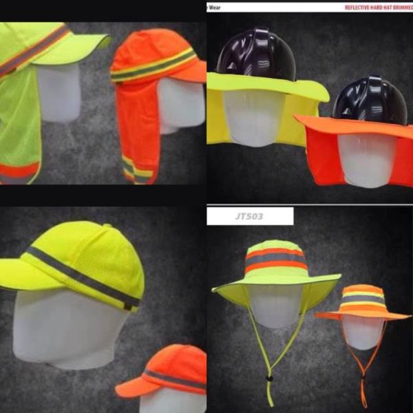 PPE - High Visibility HATS  - by Purple Esther Construction And Projects, City of Johannesburg Metropolitan Municipality