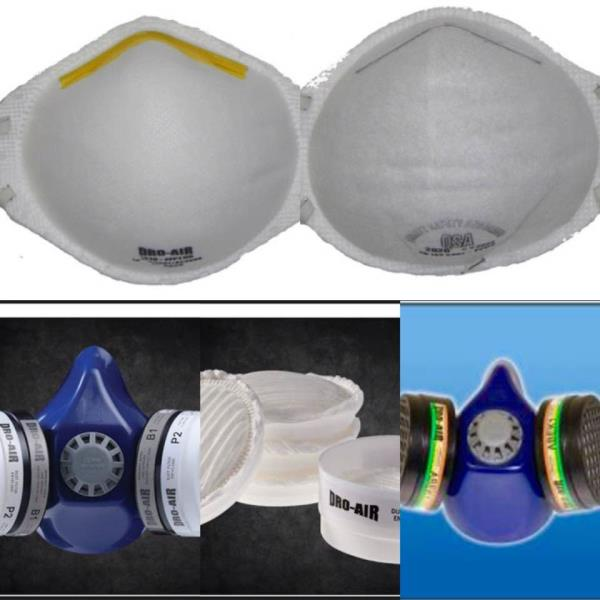 PPE - Respiratory Protection  - by Purple Esther Construction And Projects, City of Johannesburg Metropolitan Municipality