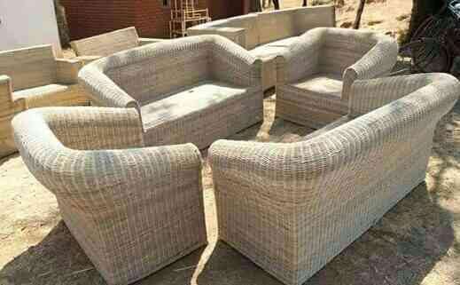 6 SEATER SOFA  - by Cane Furniture, Bareilly