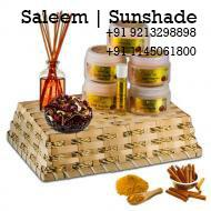 Saleem Sunshade provides a sandal gel which detoxifies the skin by removing impurities as the dries. It also removes toxins by increasing circulation in the skin leaving it glowing and feeling tighter.http://sunshade.co.in/  oil treatment f - by Saleem | Sunshade, West Delhi