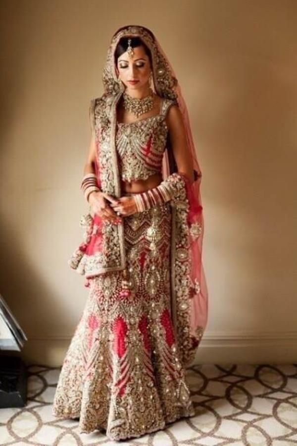 Grab this stunning lehnga at wholesale prices  Pure silk lehnga with net dupatta comes with all over Zardozi and zerkon work  To buy this www.purisonline.com - by Puri's Online, Delhi