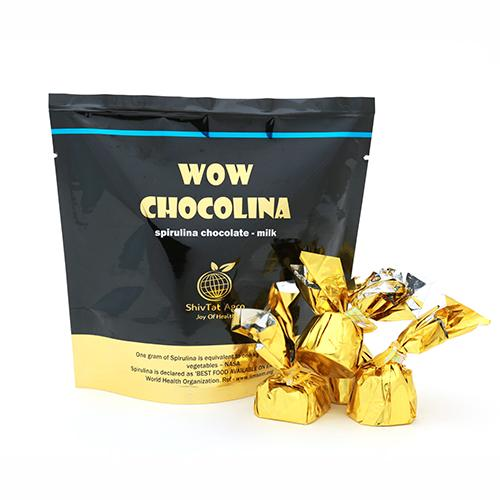 For those traditional taste buds presenting the Milk Chocolate With Healthy Spirulina...  - by WOW CHOCOLINA, Bangalore