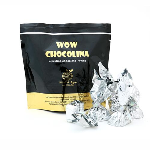For the choosy creamy taste buds, here comes the creamy White Chocolate Blended With Spirulina... - by WOW CHOCOLINA, Bangalore