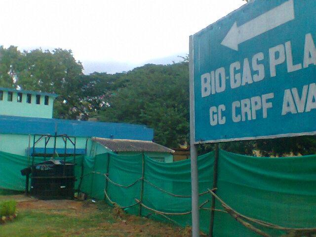 Food Waste Bio Gas plant at C R P F Chennai Avadi - by Mohina Eco Solutions Call Us : 9840209805, Chennai