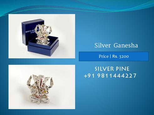 Find great deals on religious gifts and artifacts range. Gift Ganesha idols, and many more..  silver ganesh manufacture in delhi,  ganesh ji manufacturers in delhi,  importer of silver ganesha in greater kailash,  ganesh ji manufacturer in  - by Crockery Cutlery Glassware Dealer| SILVER PINE, Delhi
