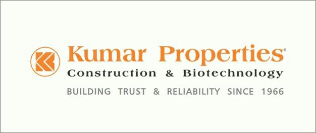 ABOUT US  Kumar Properties, one of the largest key players in Pune's Real Estate market with annual sales more than one million square feet. It is a brand that holds a premium position over other players in the same domain.  Speaking of bes - by Kumar Properties , Bangalore